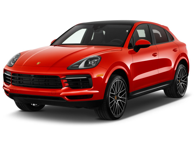 2020 Porsche Cayenne Coupe AWD Angular Front Exterior View