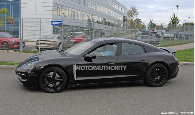 2020 Porsche Taycan spy shots - Image via S. Baldauf/SB-Medien