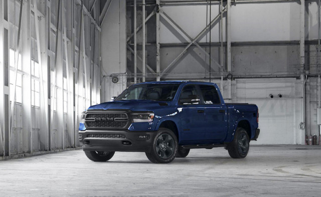 """Limited run, 2020 Ram 1500 """"Built to Serve"""" truck honors Navy"""