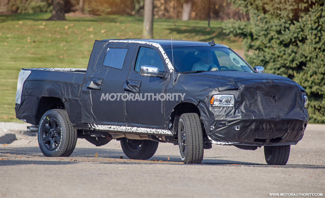 Ram 2500 Concept >> 2020 Ram 2500 3500 Heavy Duty Spy Shots