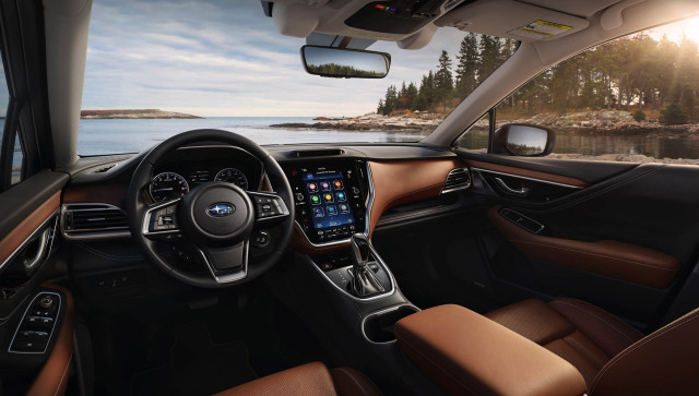 Subaru Outback adds turbo and huge touchscreen to fan-favorite