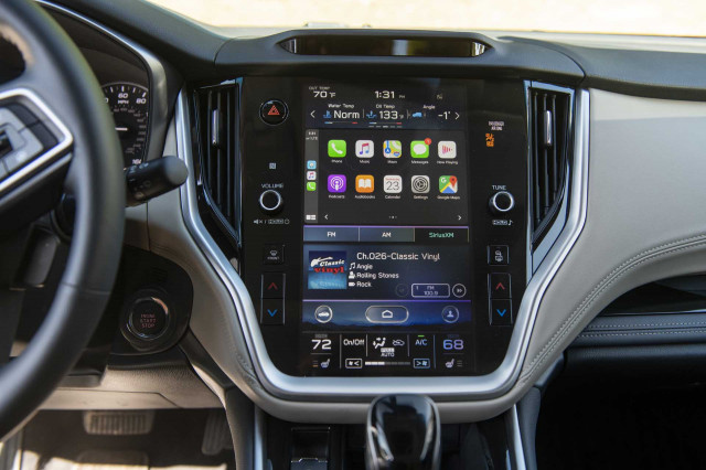2020 Subaru Outback Apple CarPlay