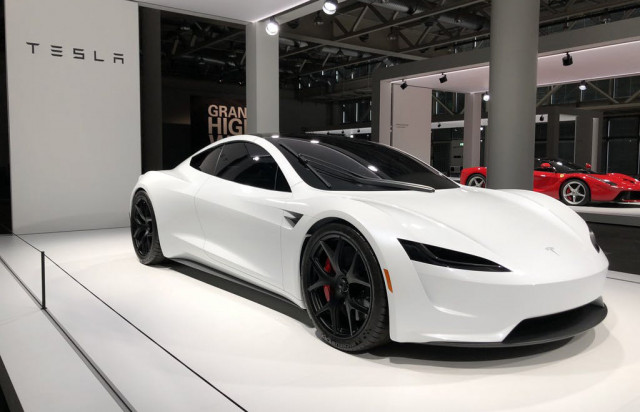 The New 2020 Tesla Roadster That Wasn T In Switzerland