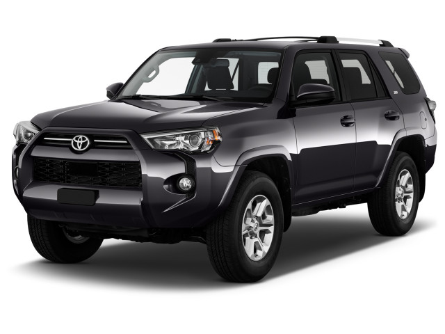 2020 Toyota 4Runner SR5 4WD (Natl) Angular Front Exterior View
