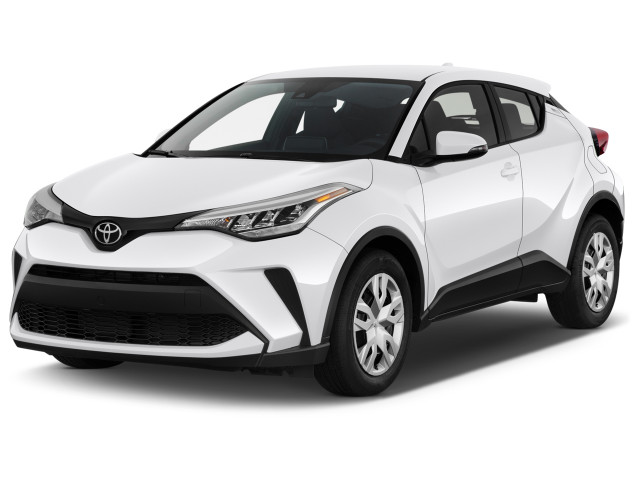 2020 Toyota C-HR LE FWD (Natl) Angular Front Exterior View