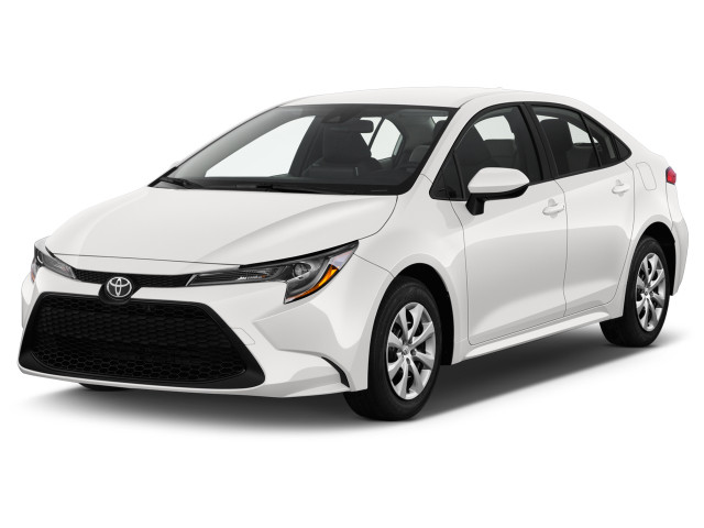 2020 Toyota Corolla LE CVT (SE) Angular Front Exterior View