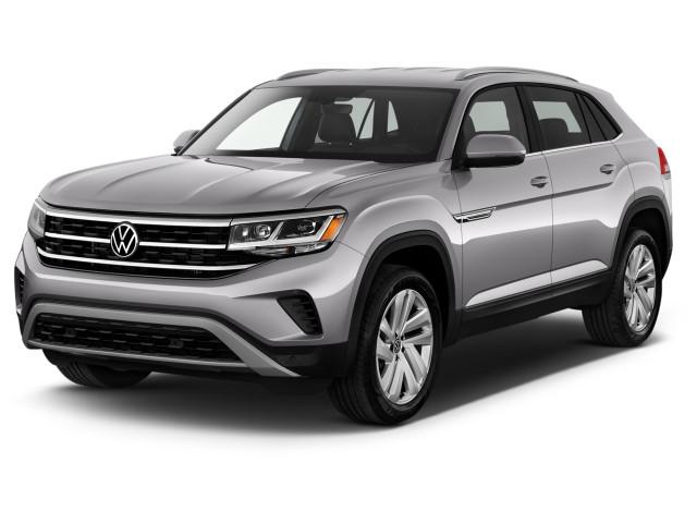 2020 Volkswagen Atlas 2.0T SE w/Technology FWD Angular Front Exterior View