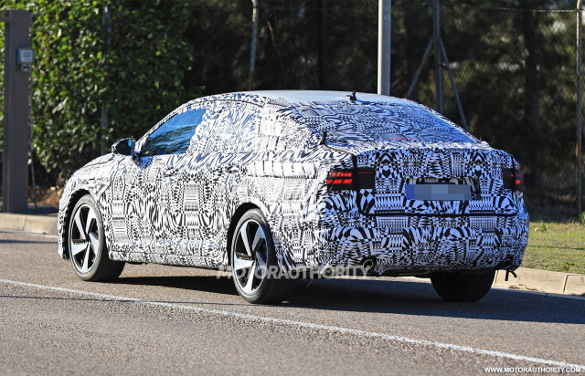Manual Transmission >> 2019 Volkswagen Jetta GLI spy shots