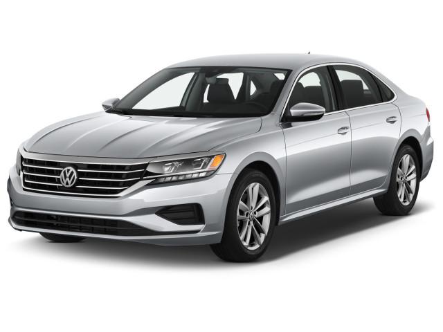 2020 Volkswagen Passat 2.0T SE Auto Angular Front Exterior View