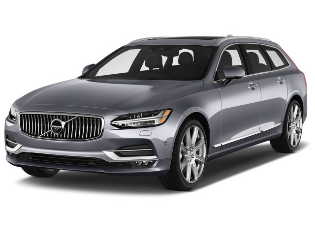 2020 Volvo V90 T5 FWD Inscription Angular Front Exterior View