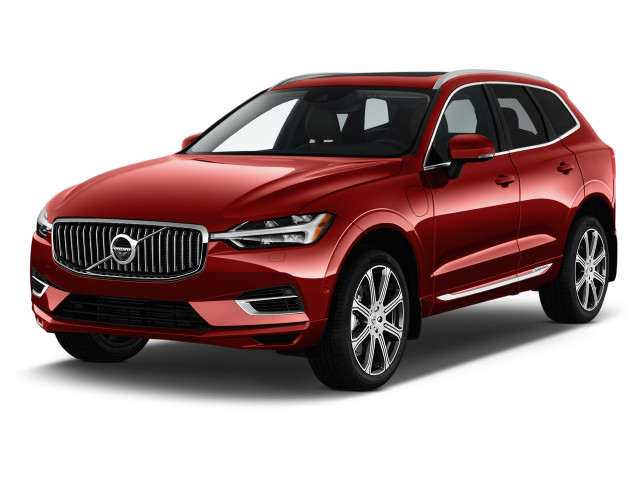 2020 Volvo XC60 T8 eAWD Plug-In Hybrid Inscription Angular Front Exterior View