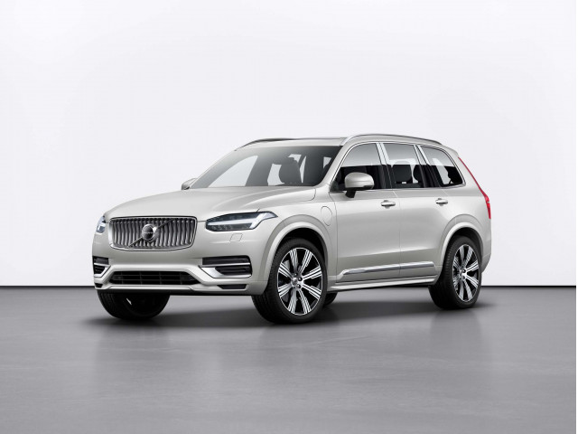 Refreshed 2020 Volvo XC90 crossover SUV adds Android Auto, rear captain's chairs