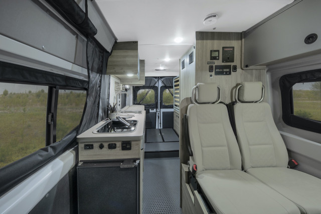 2020 Winnebago Solis camper van