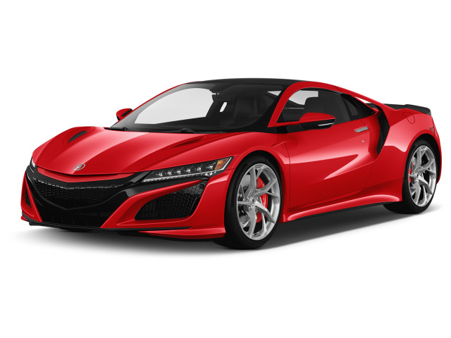 2021 Acura NSX Coupe Angular Front Exterior View