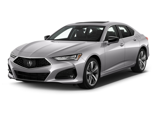 2021 Acura TLX FWD w/Advance Package Angular Front Exterior View