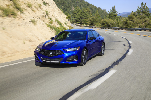 Acura TLX: Motor Authority Best Car To Buy 2021 nominee