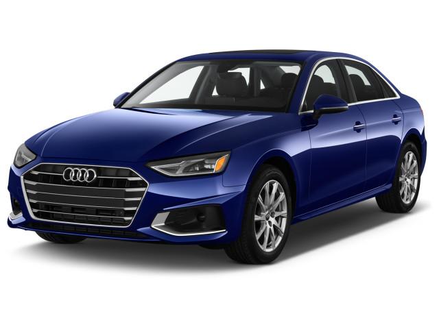 2021 Audi A4 Premium 45 TFSI quattro Angular Front Exterior View