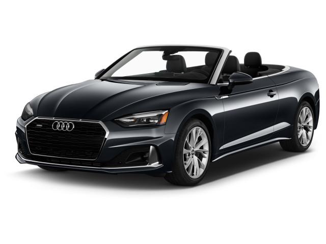 2021 Audi A5 Premium 45 TFSI quattro Angular Front Exterior View