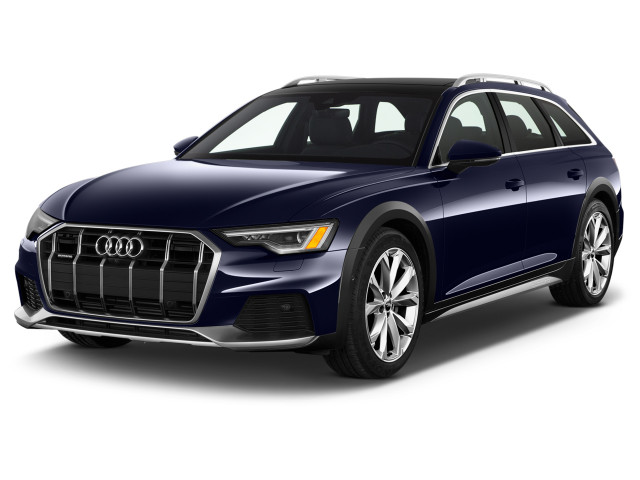 2021 Audi A6 3.0 TFSI Premium Plus Angular Front Exterior View