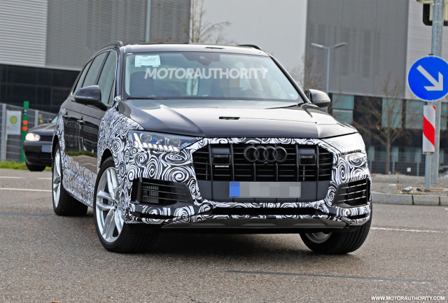 2021 Audi Q7 Spy Shots, Release Date, Specs, Price >> 2021 Audi Q7 Spy Shots Tech A Peek