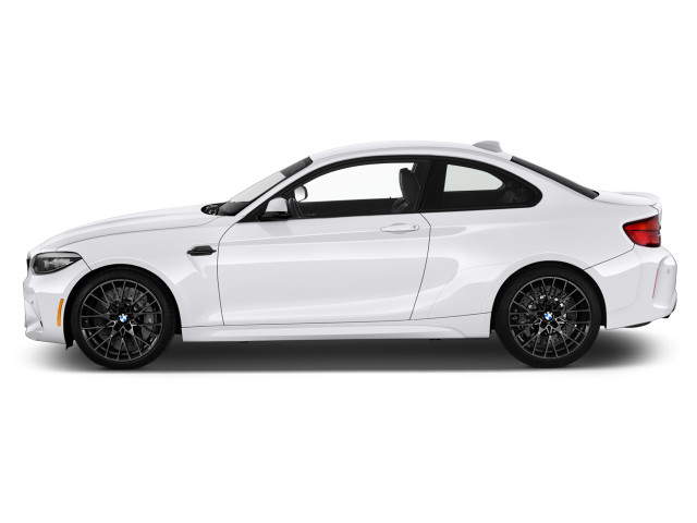 2021 BMW 2-Series Competition Coupe Side Exterior View