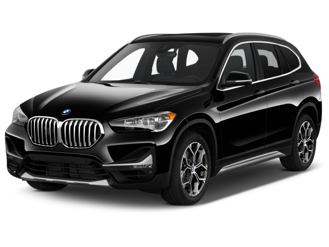 2021 BMW X1 xDrive28i Sports Activity Vehicle Angular Front Exterior View