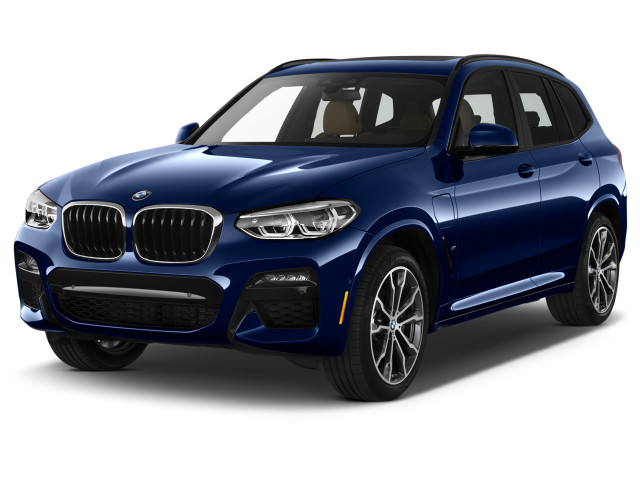 2021 BMW X3 xDrive30e Plug-In Hybrid Angular Front Exterior View