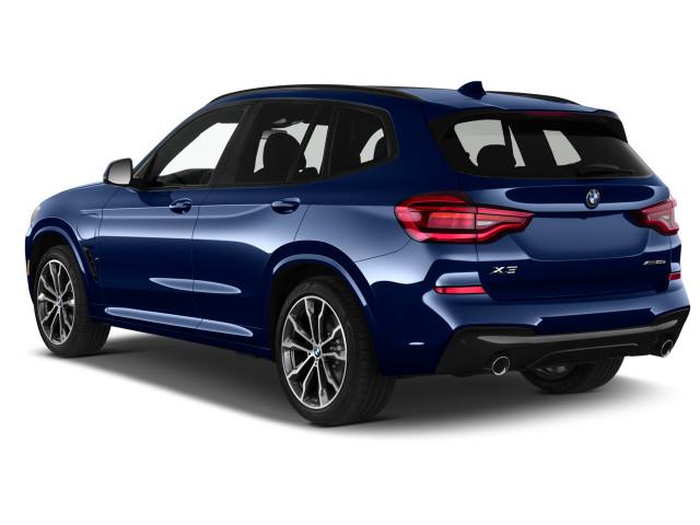 2021 BMW X3 xDrive30e Plug-In Hybrid угловой вид сзади снаружи