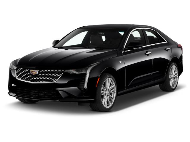 2021 Cadillac CT4 4-door Sedan Premium Luxury Angular Front Exterior View