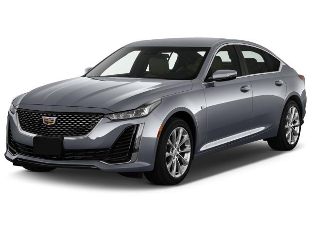 2021 Cadillac CT5 4-door Sedan Premium Luxury Angular Front Exterior View
