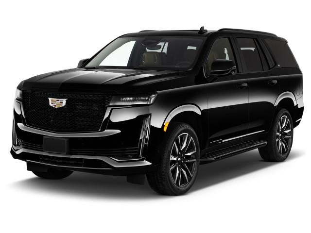 2021 Cadillac Escalade 2WD 4-door Sport Angular Front Exterior View