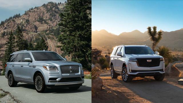 2021 Cadillac Escalade vs. 2020 Lincoln Navigator