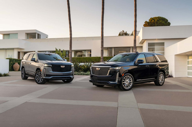 2021 Chevrolet Tahoe High Country vs. 2021 Cadillac Escalade Platinum: Compare SUVs