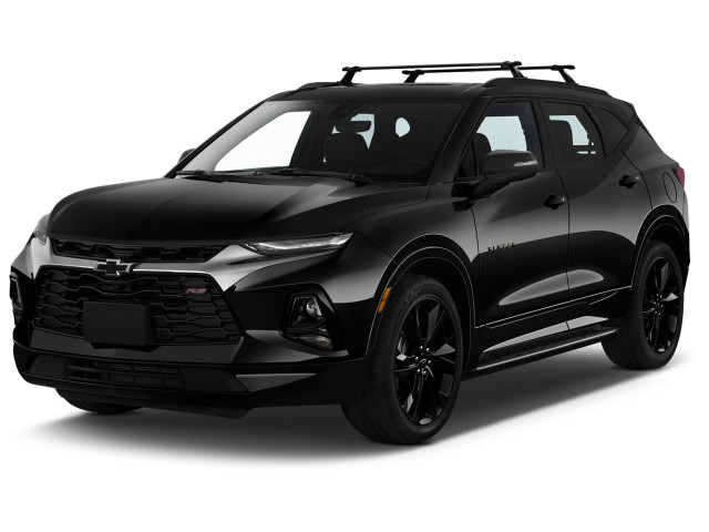 2021 Chevrolet Blazer AWD 4-door RS Angular Front Exterior View