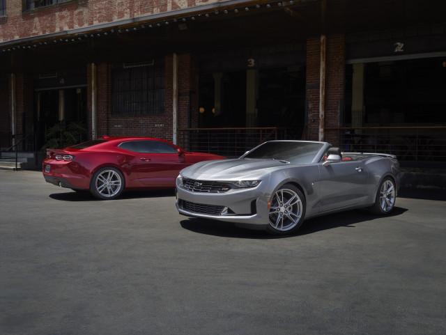 2021 Chevrolet Camaro LS and LT