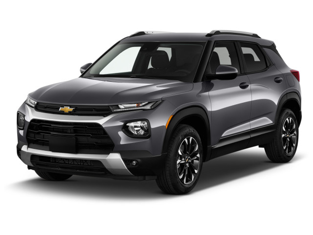 2021 Chevrolet TrailBlazer FWD 4-door LT Angular Front Exterior View