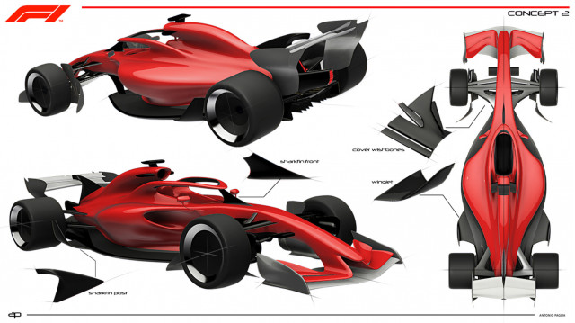2021 F1 racer concept 2