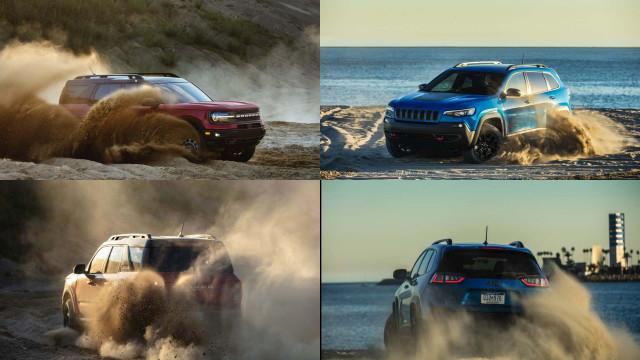 2021 Ford Bronco Sport vs. 2021 Jeep Cherokee: Compare Crossover SUVs