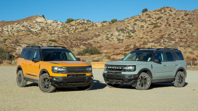 2021 Ford Bronco Sport vs 2021 Toyota RAV4: Compare Crossover SUVs