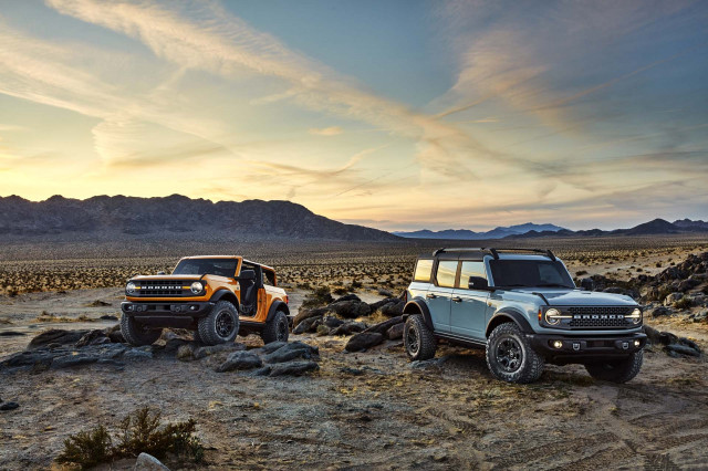 2021 Ford Bronco vs. 2020 Toyota 4Runner: Compare SUVs