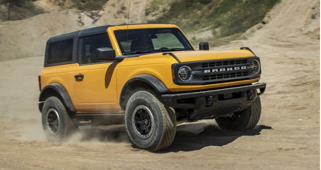 2021 Ford Bronco two-door first ride