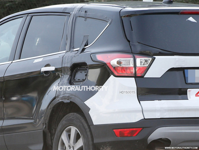 2021 Ford Escape spy shots