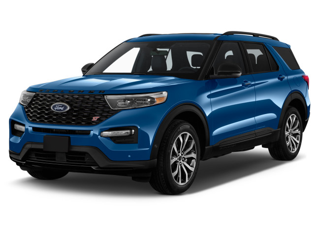 2021 Ford Explorer ST 4WD Angular Front Exterior View