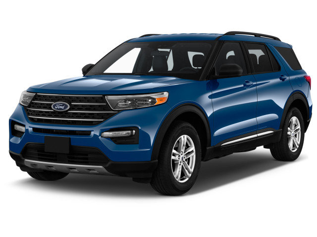 2021 Ford Explorer XLT RWD Angular Front Exterior View