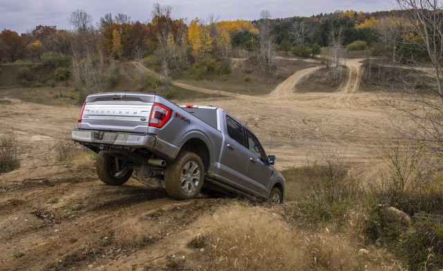 2021 Ford F-150 Platinum off-road