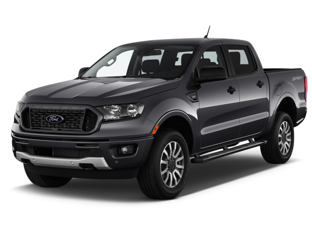 2021 Ford Ranger XLT 2WD SuperCab 6' Box Angular Front Exterior View