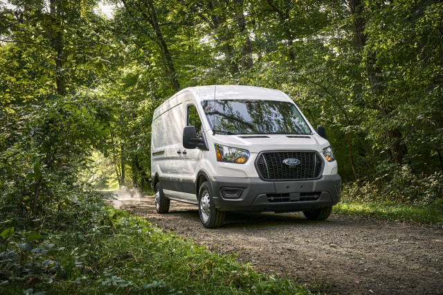 2021 Ford Transit van recreates the mobile home and work van