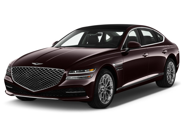2021 Genesis G80 2.5T AWD Angular Front Exterior View
