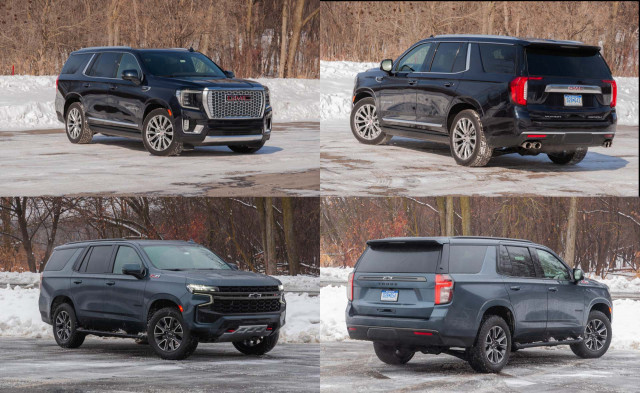 2021 GMC Yukon Denali and 2021 Chevrolet Tahoe Z71