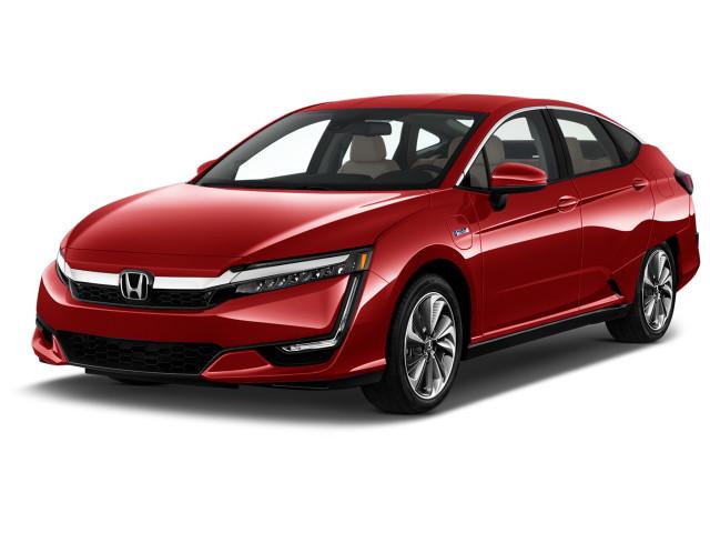 2021 Honda Clarity Touring Sedan Angular Front Exterior View